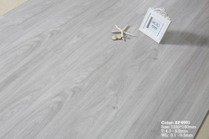 SPC石塑地板-8001灰白杉